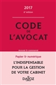 CODE DE L'AVOCAT 2017, COMMENTE